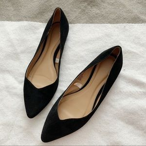 3/$20 SZ 8.5 Mossimo Black Pointed Toe Flats